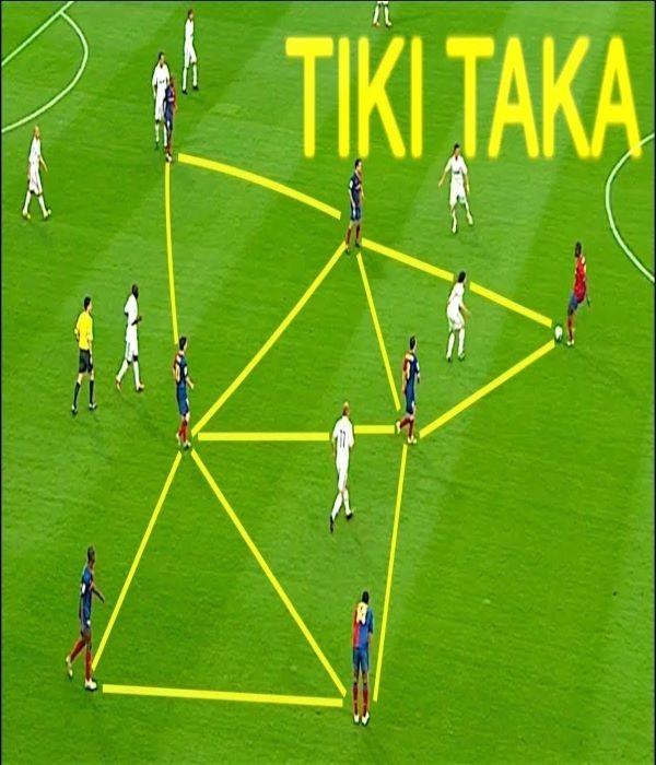 tiki taka là gì